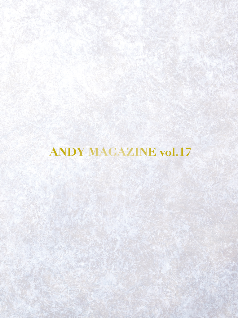 ANDY MAGAZINE vol.17